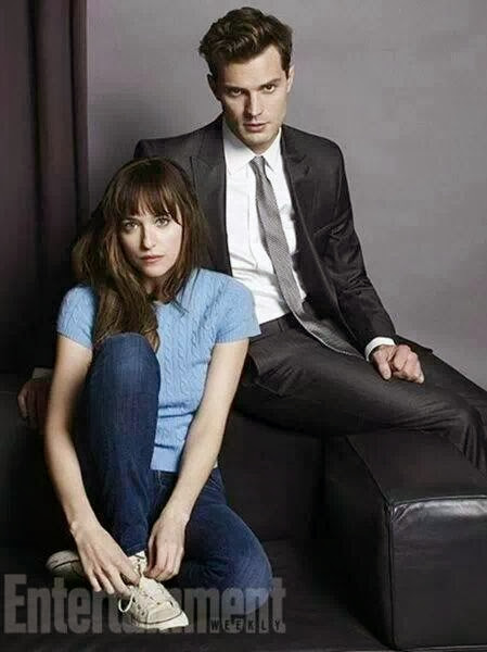 """50 Sombras de Grey"" en Entertainment Weekly"