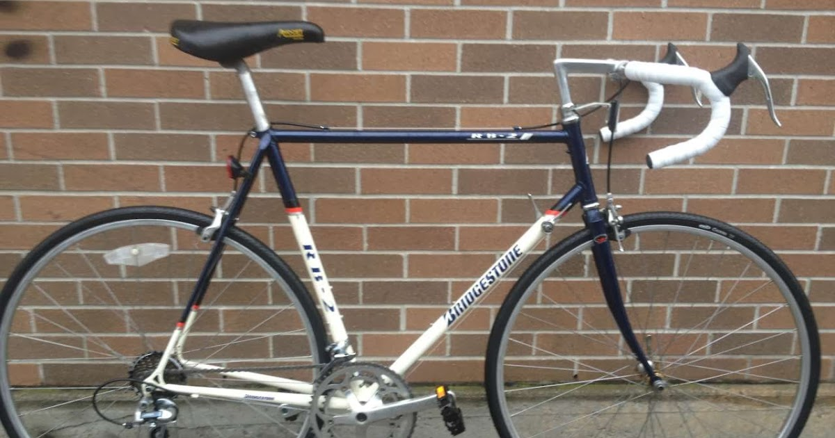 Bike Boom Refurbished Bikes 1992 Bridgestone Rb 2 Road Bike