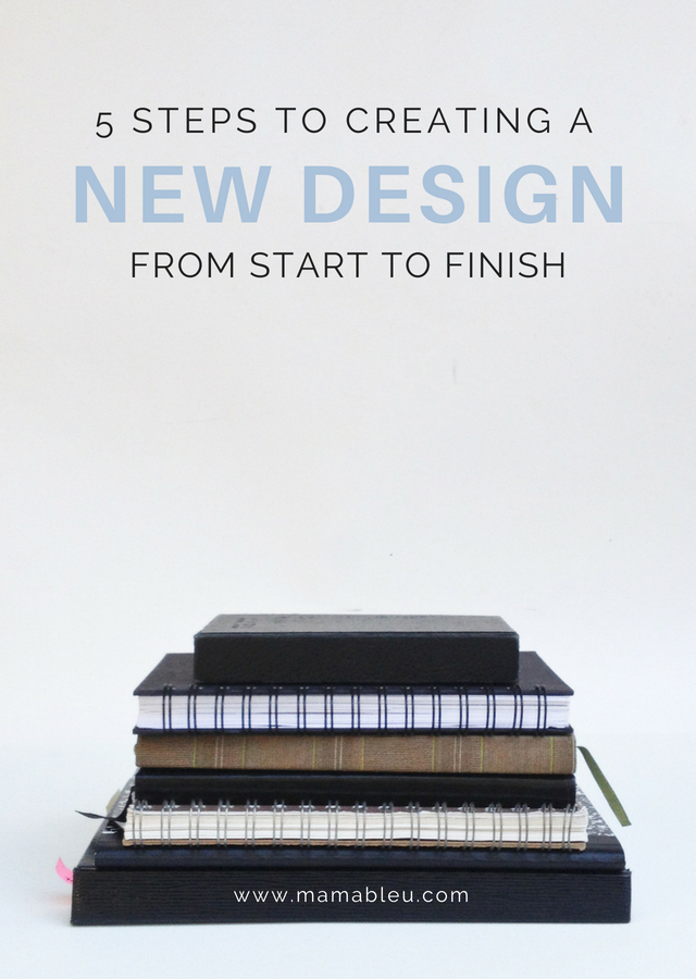 5 Steps to Creating a New Design from Start to Finish | MamaBleu.com