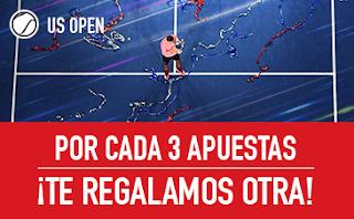 sportium Promo US Open: Cada 3 te damos 1 hasta 9 septiembre