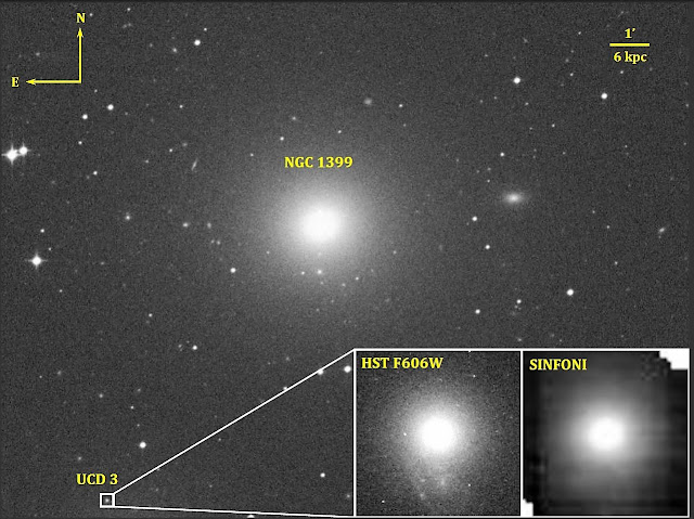 Astronomers discover supermassive black hole in an ultracompact dwarf galaxy