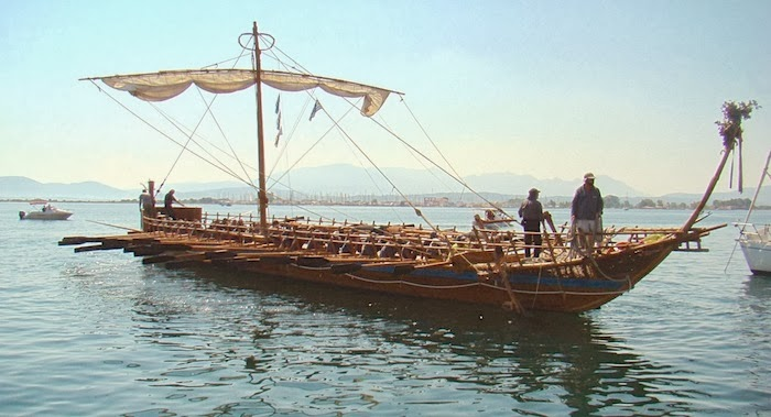 Greek museum hosts replica of Argo ship