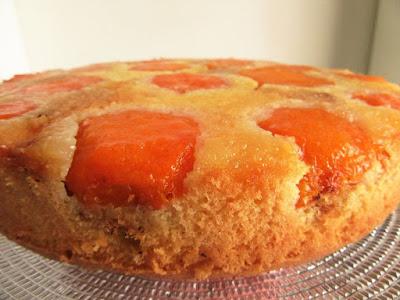 Victoria's apricot cake