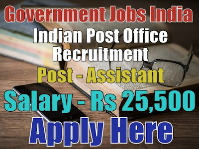 Indian Post Office Recruitment 2018 Department of Posts