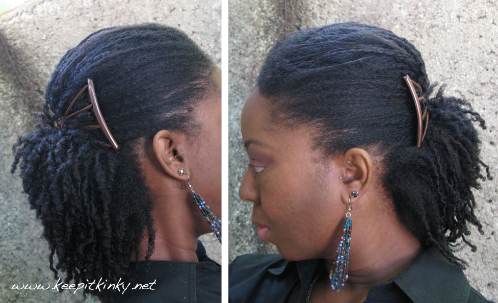 Fine Old Twist Out Hairstyle Using An Upzing Keepitkinkykeepitkinky Hairstyles For Women Draintrainus