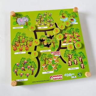 Maze Hewan 2 in 1