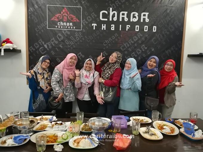 Masakan Thai Yang Sedap di Restoren Chaba Thaifood, JB