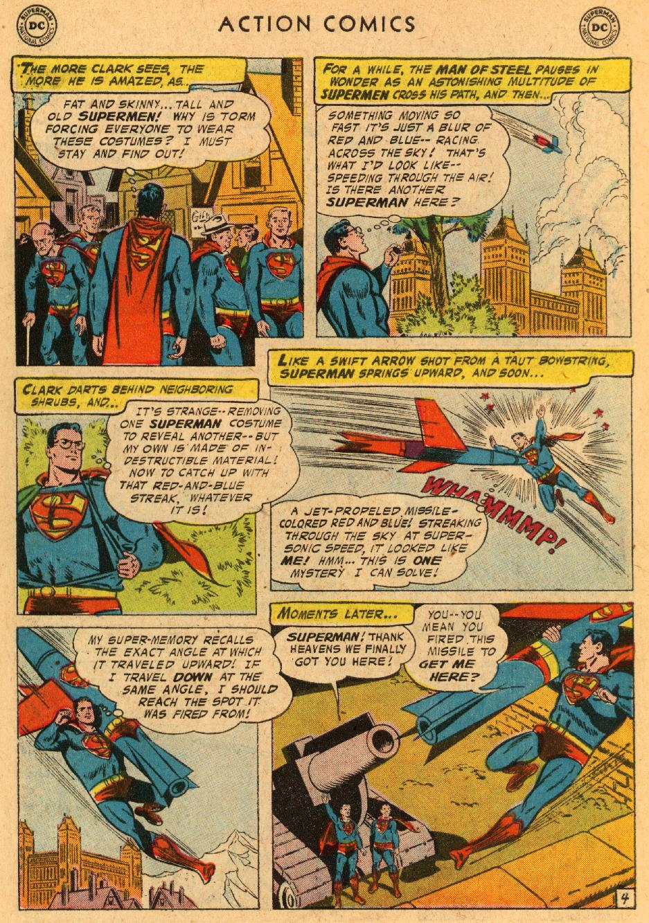 Read online Action Comics (1938) comic -  Issue #233 - 6