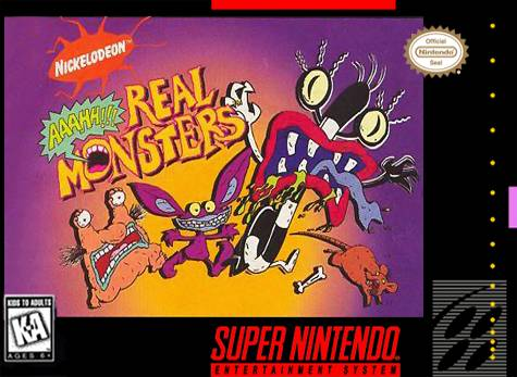 ROMs - AAAHH!!! Real Monsters (Português) - SNES Download