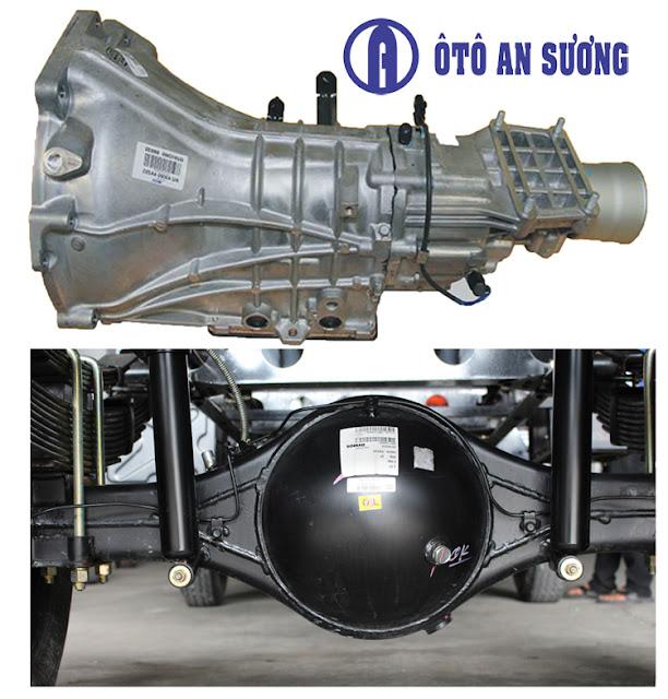 dong co vt200 Bán trả góp xe tải Veam VT252 1 | Xe tải Veam 2T4 Thùng 4m2