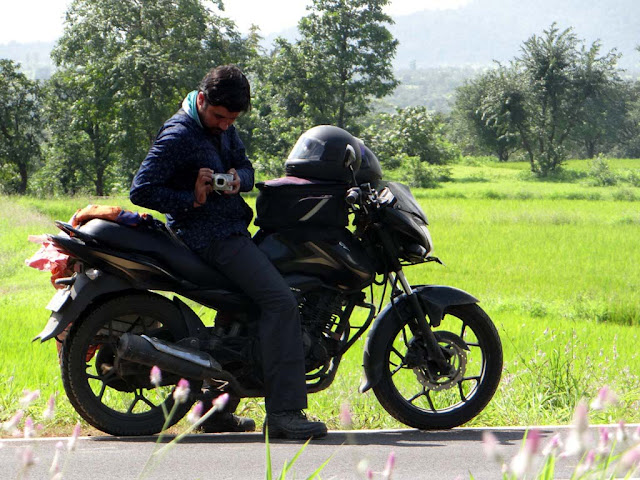 Motorcycle Riding in Malshej Ghat