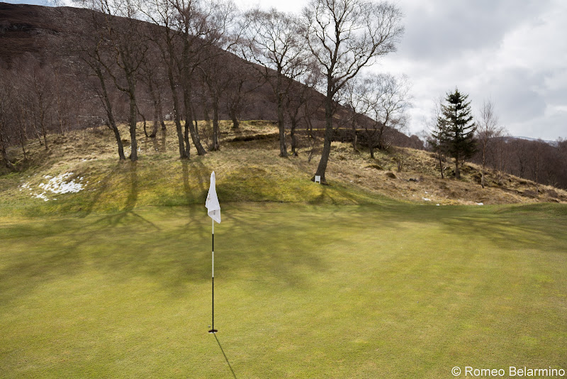 Braemar Golf Club Hole 6 Green Top Scottish Golf Courses