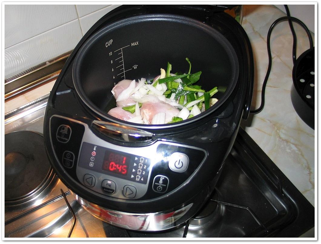 Robot De Cocina Moulinex Multicooker 25 Programas Receta 03 Pollo