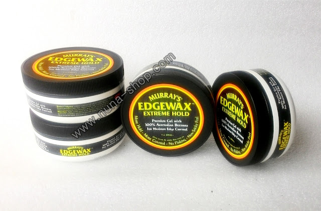 Edgewax Murray's Extreme Hold New 4Oz Waterbased Pomade