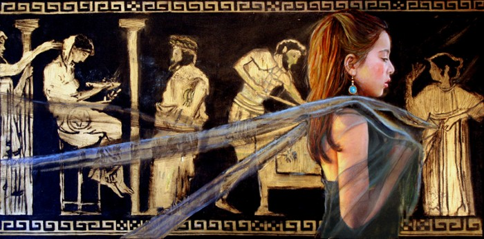 Современные художники Кипра. Sylvia Nitti 3
