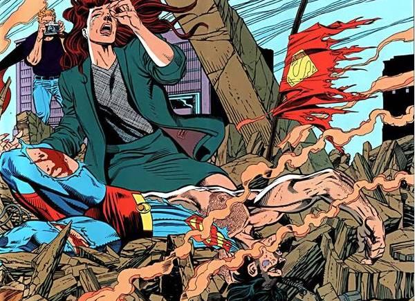 cerita kematian superman dibunuh doomsday