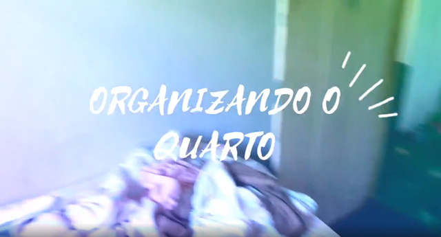 Vídeo: ORGANIZANDO O QUARTO