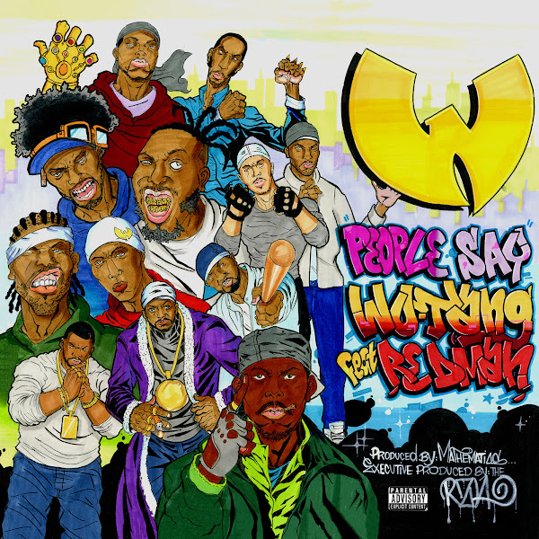Wu-Tang Clan - People Say (feat. Redman) - Single   Cover
