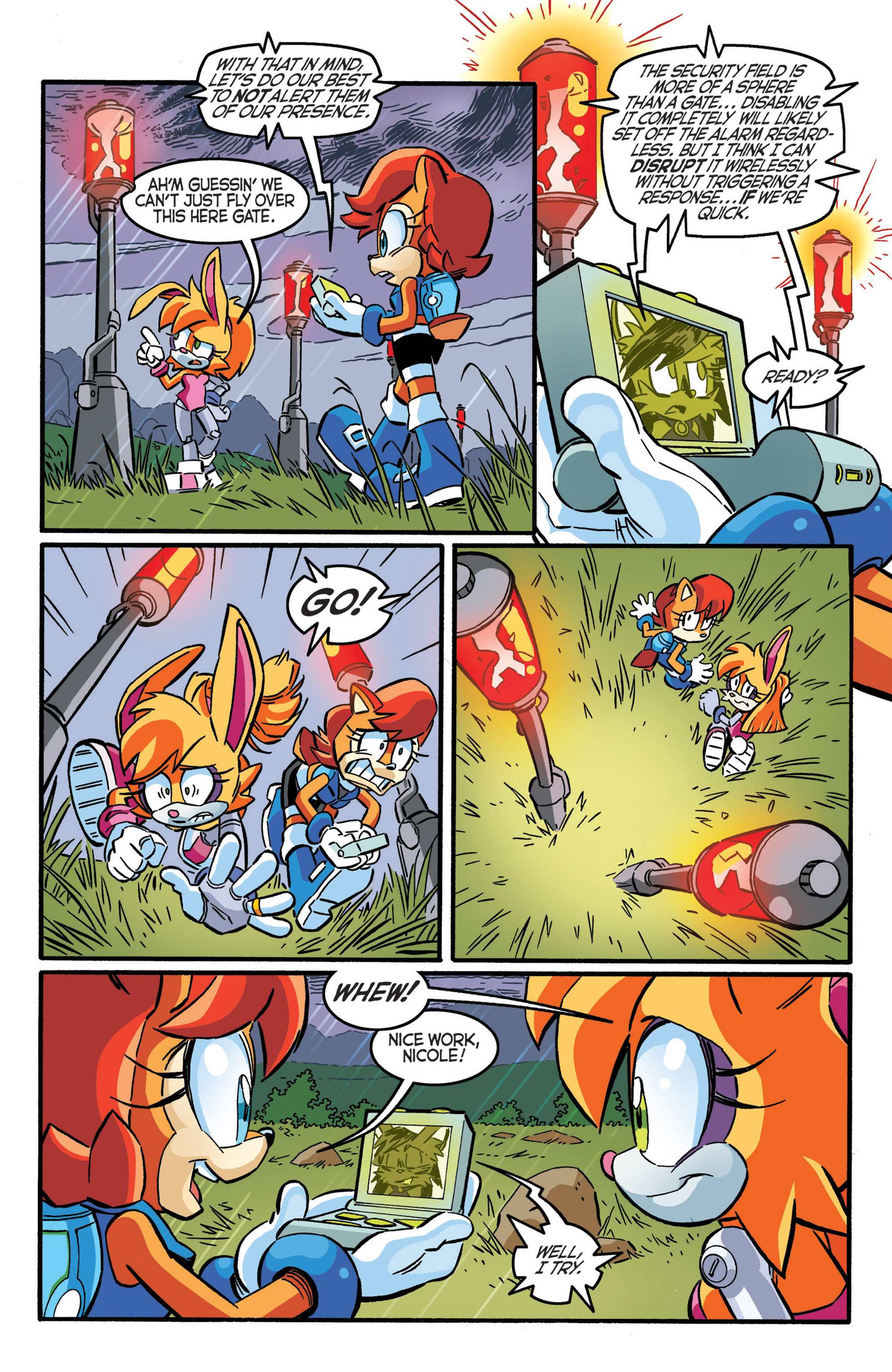 Read online Sonic The Hedgehog comic -  Issue #277 - 14