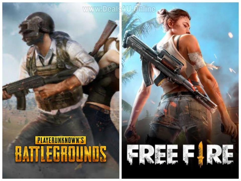 Free Fire And Pubg Images | Pubg Hack Mobile
