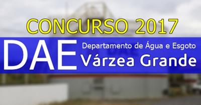 Apostila concurso DAE Várzea Grande 2017