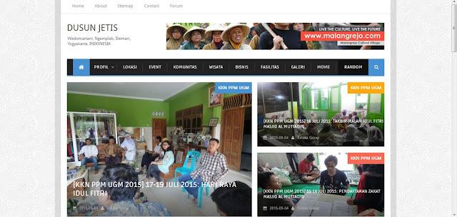 [Portfolio] Website Dusun Jetis