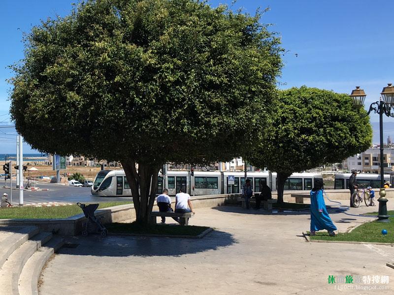 北非摩洛哥首都-拉巴特(Rabat) 如何搭乘輕軌以及購票方式?