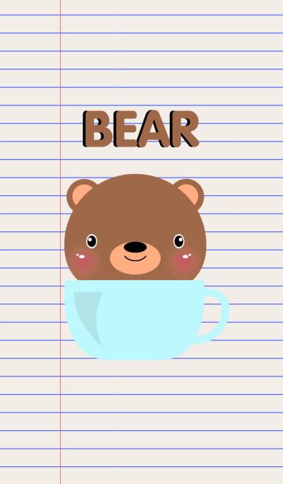 Simple Brown Bear Theme Vr.2(jp)