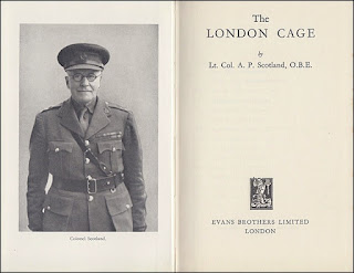 The London Cage - title page