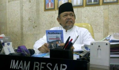 KH Ali Musthafa Ya'kub imam besar mesjid istiqlal jakarta