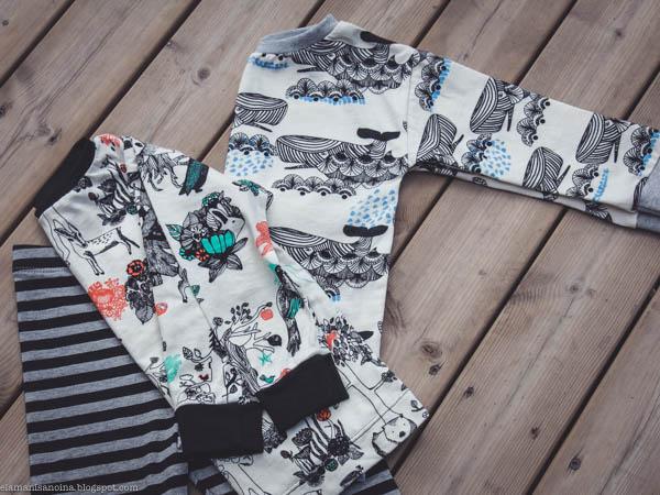 Aarrekid Aarremetsä Whale Ottobre Dude-paita 4/2016