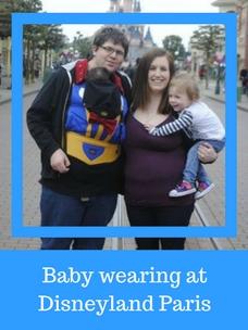 Can you babywear at Disneyland Paris?