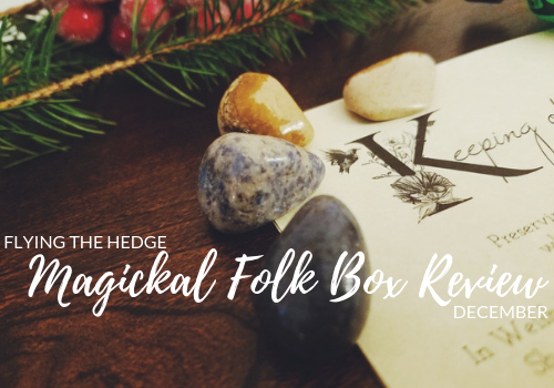 Magickal Folk Box Review: December