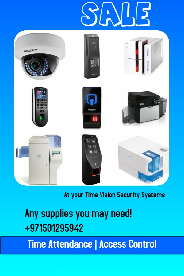Time attendance and access control systems in dubai