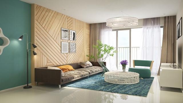 Thiết kế nội thất phòng khách Florence