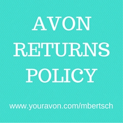 Avon 90 Day Money Back Guarantee