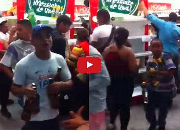 SUNDDE provoca desastre en supermercados del país