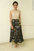 Taapsee Pannu in transparent top at Anando hma theatrical trailer launch ~  Exclusive 112.JPG