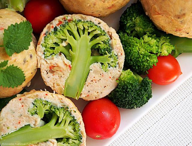 mielone z brokułami
