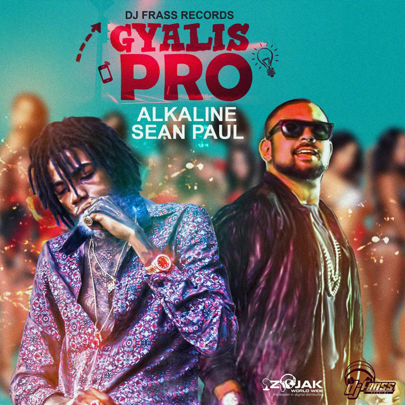 Alkaline & Sean Paul - Gyalis Pro - Single Cover