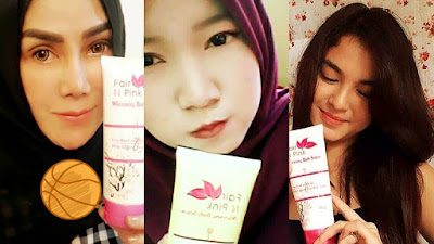 Pemutih Badan Fair N Pink Body Serum 0858 4621 1788