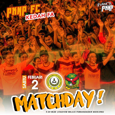 LIVE STREAMING PKNP FC VS KEDAH FA LIGA SUPER 2.2.2019