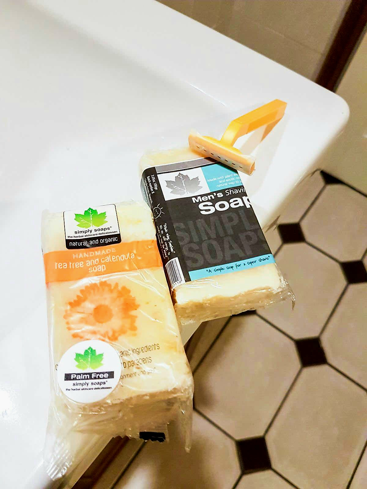 Natural & Organic Soaps from Simply Soap | Wasted Little PJ Scottish Male Lifestyle Blog