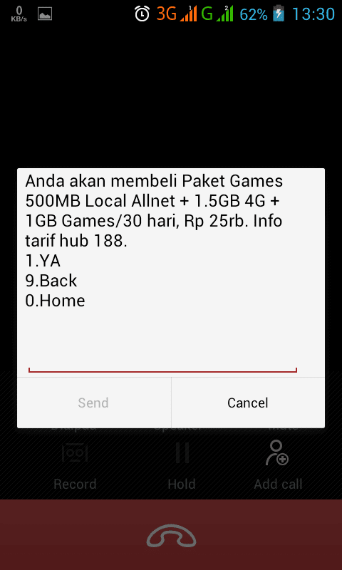 Paket Internet Murah Telkomsel 3GB