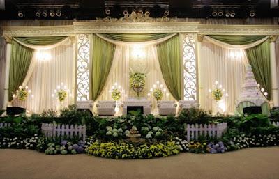 dekorasi untuk pernikahan muslimah islami