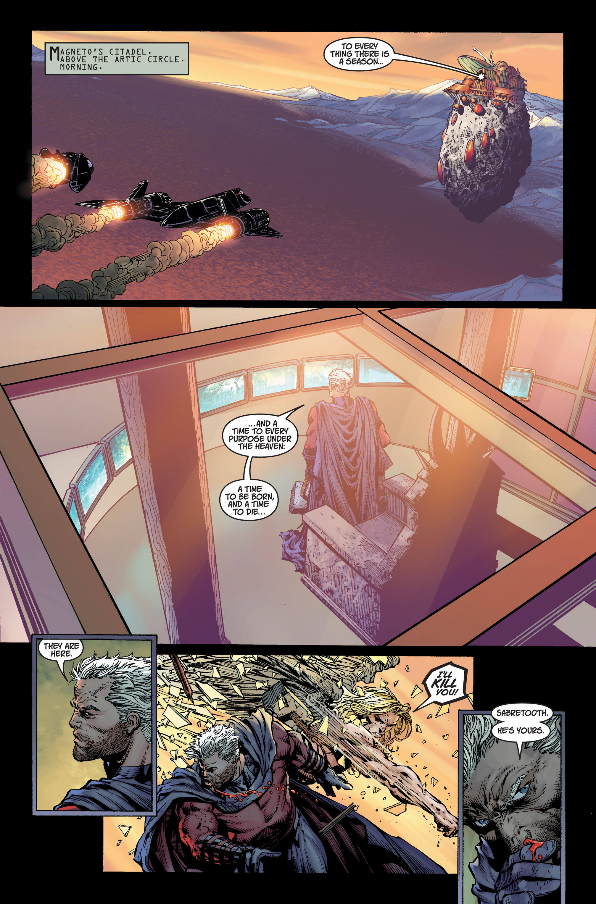 Read online Ultimatum comic -  Issue #4 - 17