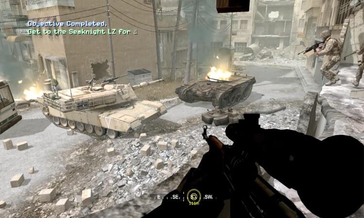تحميل لعبة Call of Duty 4 برابط مباشر مجانا