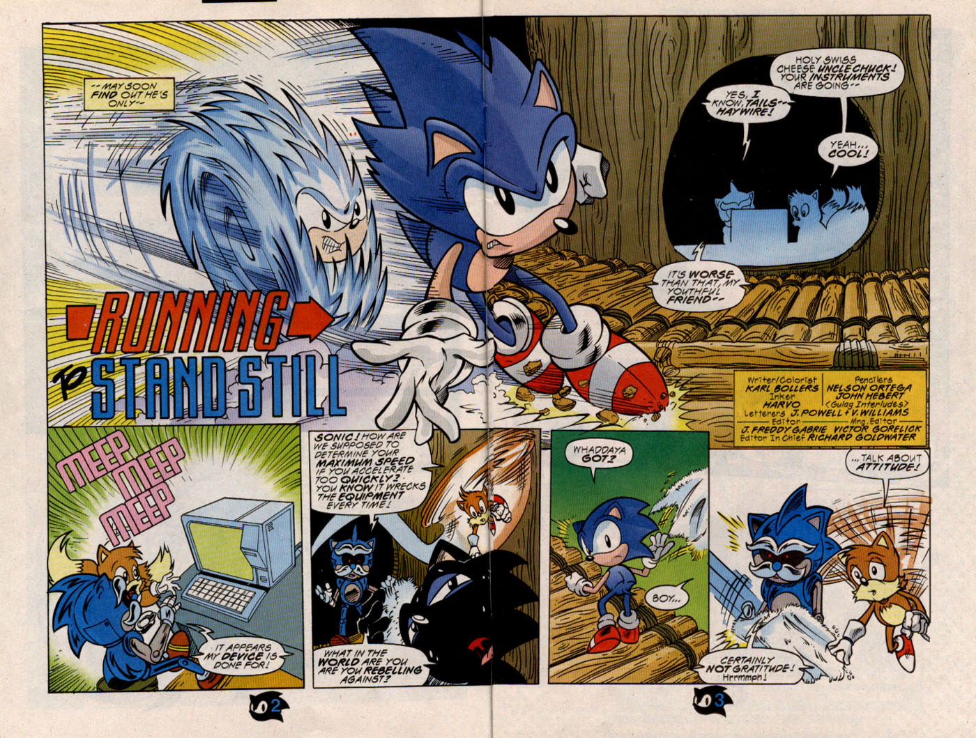 Read online Sonic The Hedgehog comic -  Issue #54 - 4