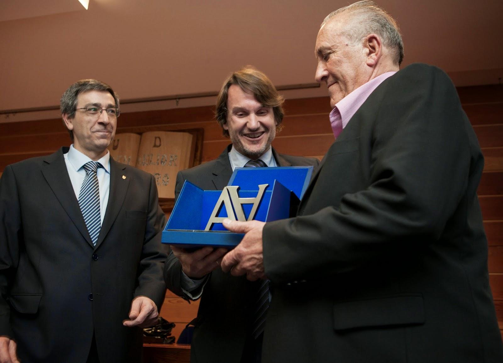 Javier Altuna premio Antonio Aranzábal
