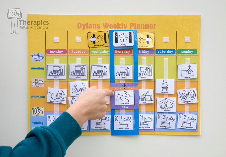 ordered this fantastic wall chart from therapics yes another special needs mum entreprenuer who set up her business in response to the of own also looking into void or how survive weeks school holidays rh hammie hammiesaysspot